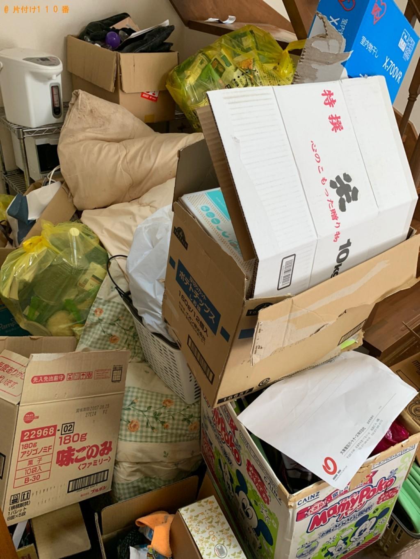 【湖南市】トラックパックでの出張不用品回収・処分ご依頼お客様の声