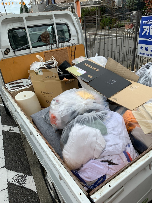 【大垣市長沢町】軽トラック1杯以内の出張不用品回収・処分ご依頼