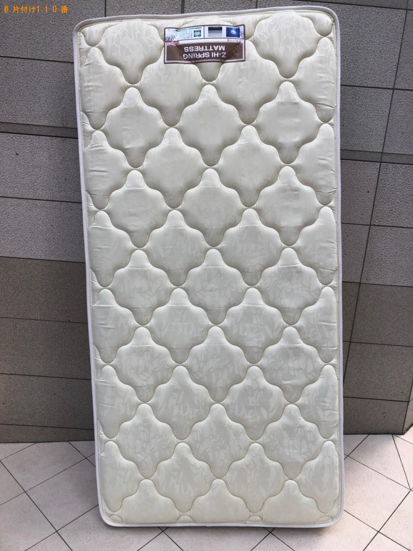 【中央区日本橋】ベッドマットレスの出張不用品回収・処分ご依頼