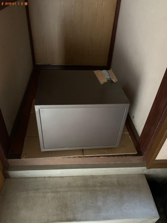 【彦根市地蔵町】金庫の出張不用品回収・処分ご依頼 お客様の声