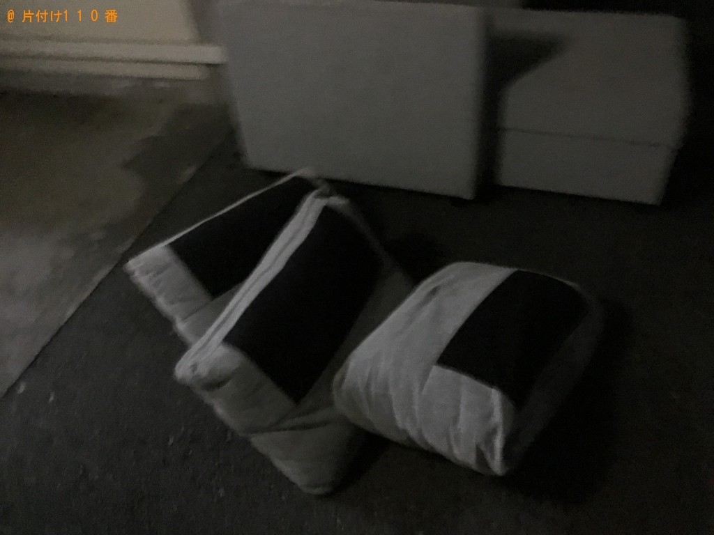 【神戸市垂水区】ソファーの出張不用品回収・処分ご依頼 お客様の声