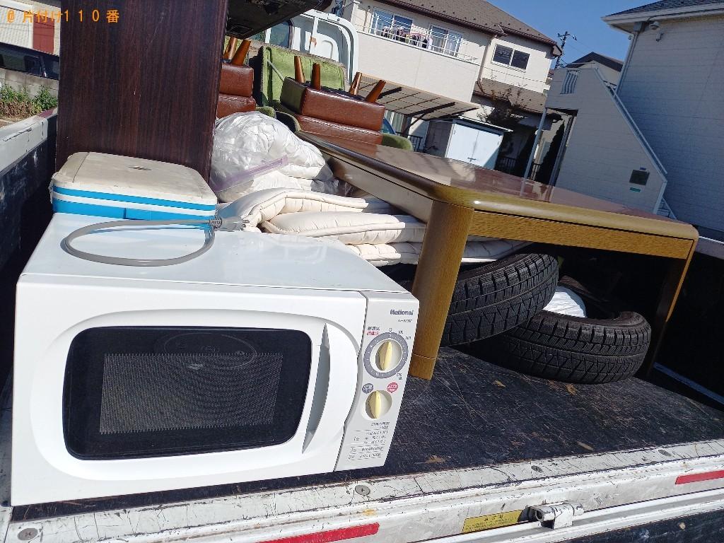 【春日部市】軽トラック1杯以内の出張不用品回収・処分ご依頼