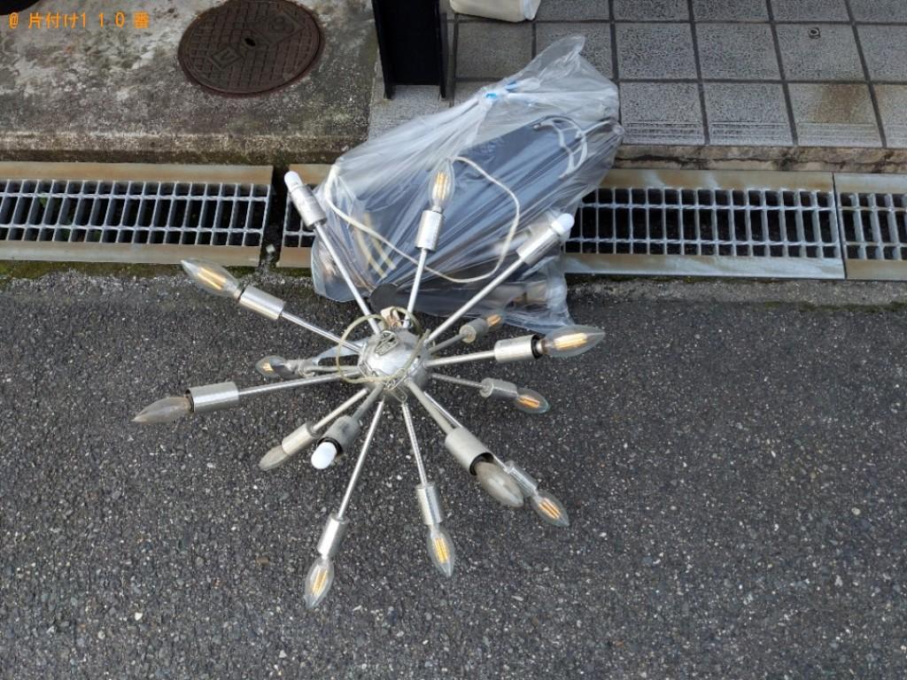 【寝屋川市高柳栄町】軽トラ1杯以内の出張不用品回収・処分ご依頼