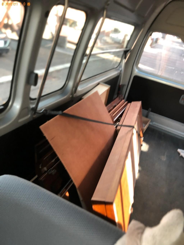 【札幌市南区】家具の出張不用品回収・処分ご依頼 お客様の声