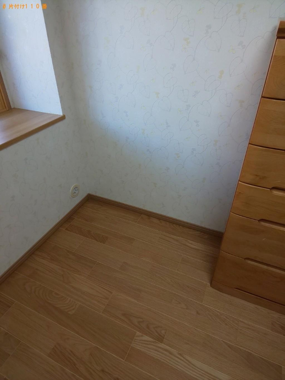 【奈良市西大寺国見町】学習机の出張不用品回収・処分ご依頼