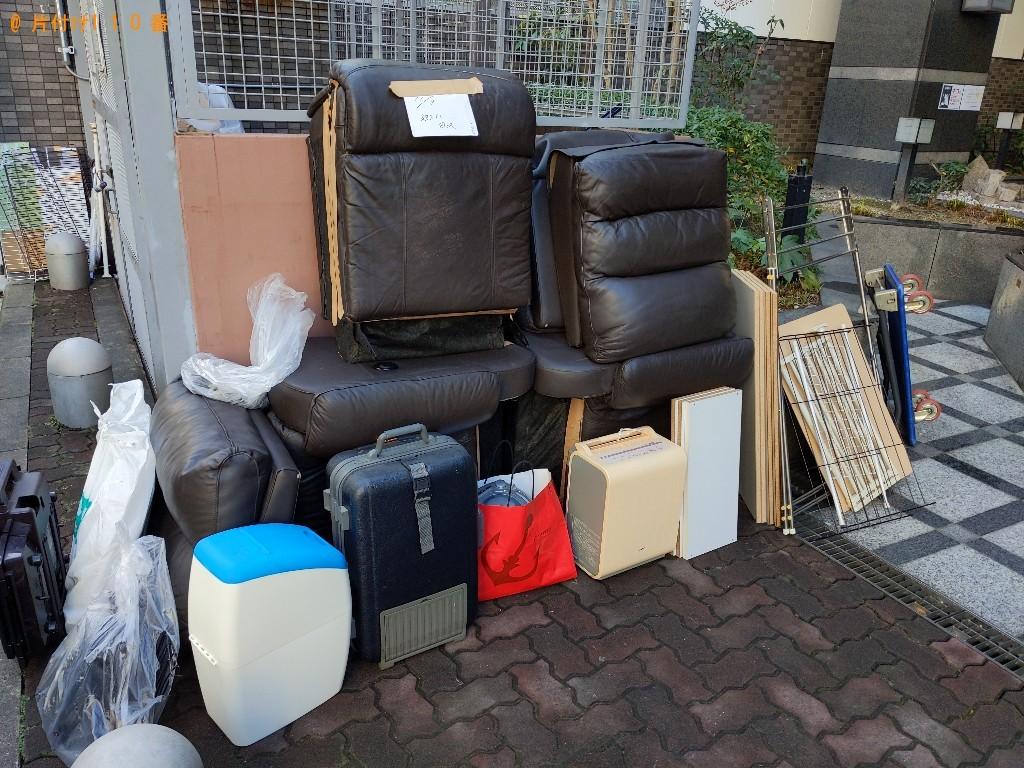【大阪市北区】軽トラック1杯以内の出張不用品回収・処分ご依頼