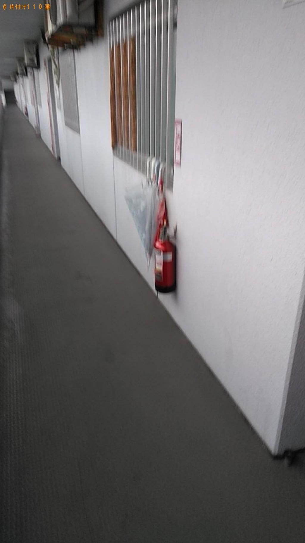 【松山市】セミダブルマットレスの出張不用品回収・処分ご依頼
