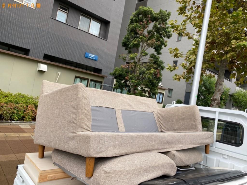 【千葉市美浜区】ソファーの出張不用品回収・処分ご依頼 お客様の声