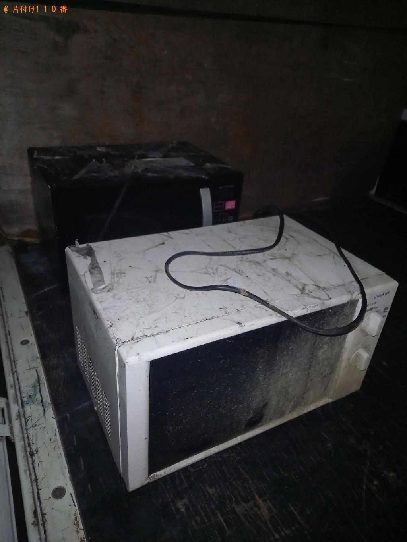 【川崎市中原区】電子レンジの出張不用品回収・処分ご依頼お客様の声
