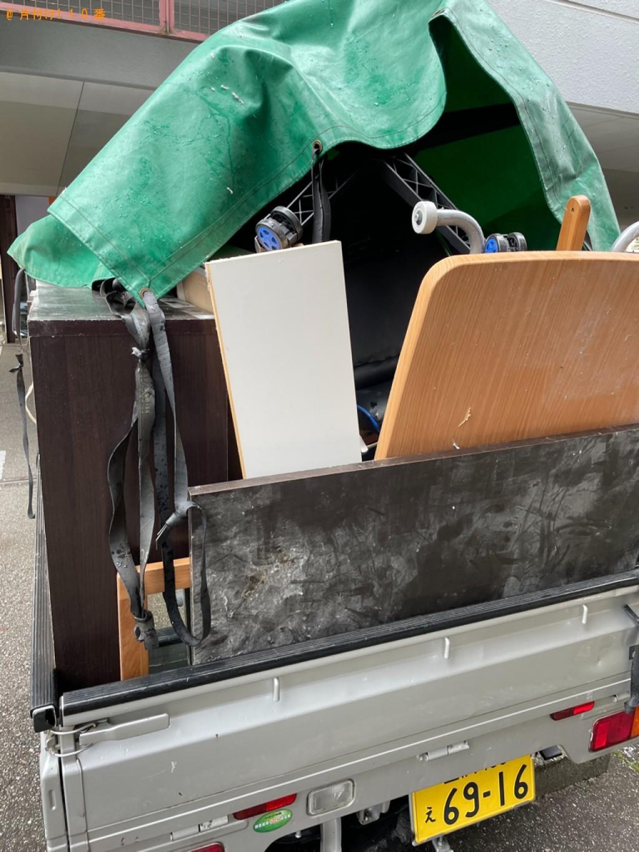 【富山市】軽トラパックでの出張不用品回収・処分ご依頼 お客様の声