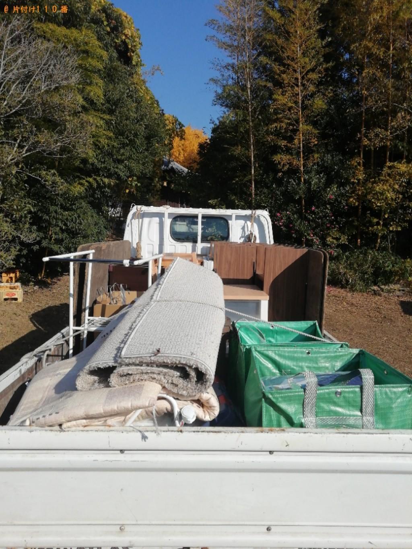 【奈良市】2tトラック1杯以内の出張不用品回収・処分ご依頼