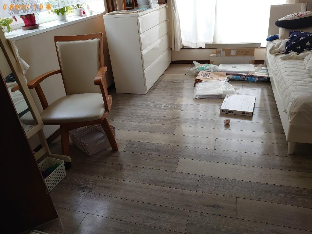 【徳島市】シングルベッドの出張不用品回収・処分ご依頼 お客様の声