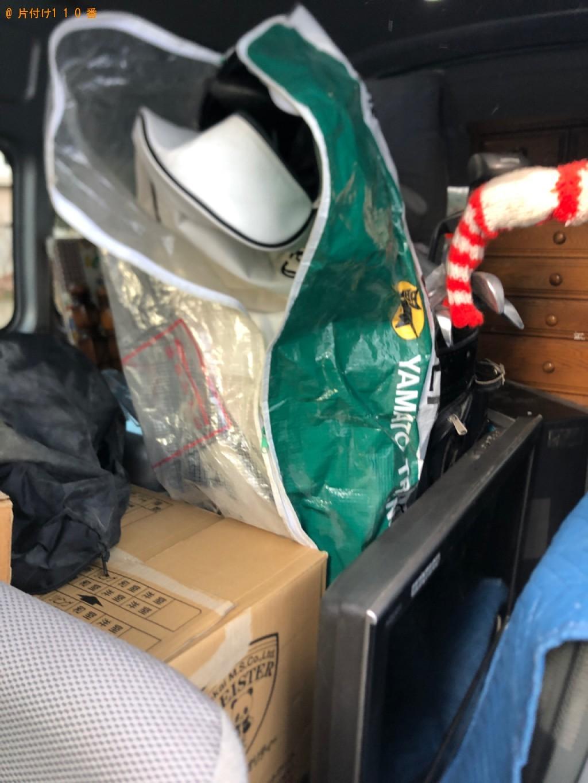 【札幌市清田区】軽トラック1杯以内の出張不用品回収・処分ご依頼