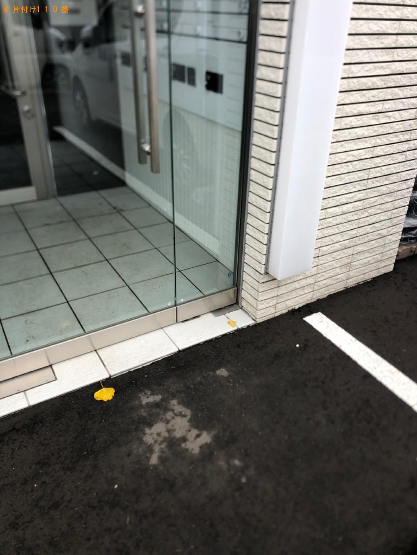 【札幌市東区】セミダブルベッドの出張不用品回収・処分ご依頼
