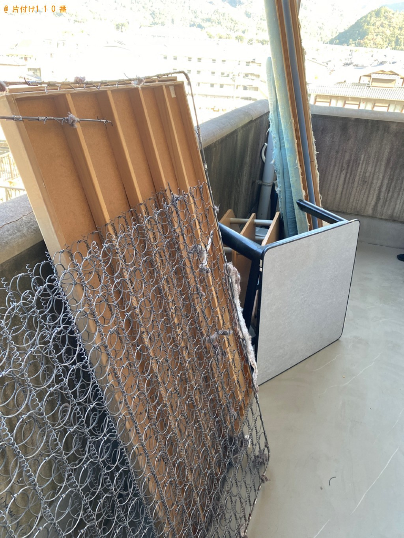 【京都市山科】2tトラック1杯以内の出張不用品回収・処分ご依頼