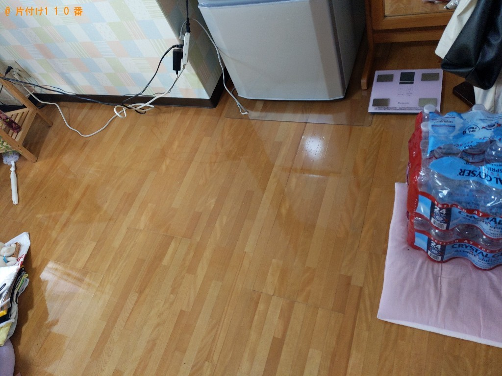 【生駒市北新町】軽トラック1杯以内の出張不用品回収・処分ご依頼