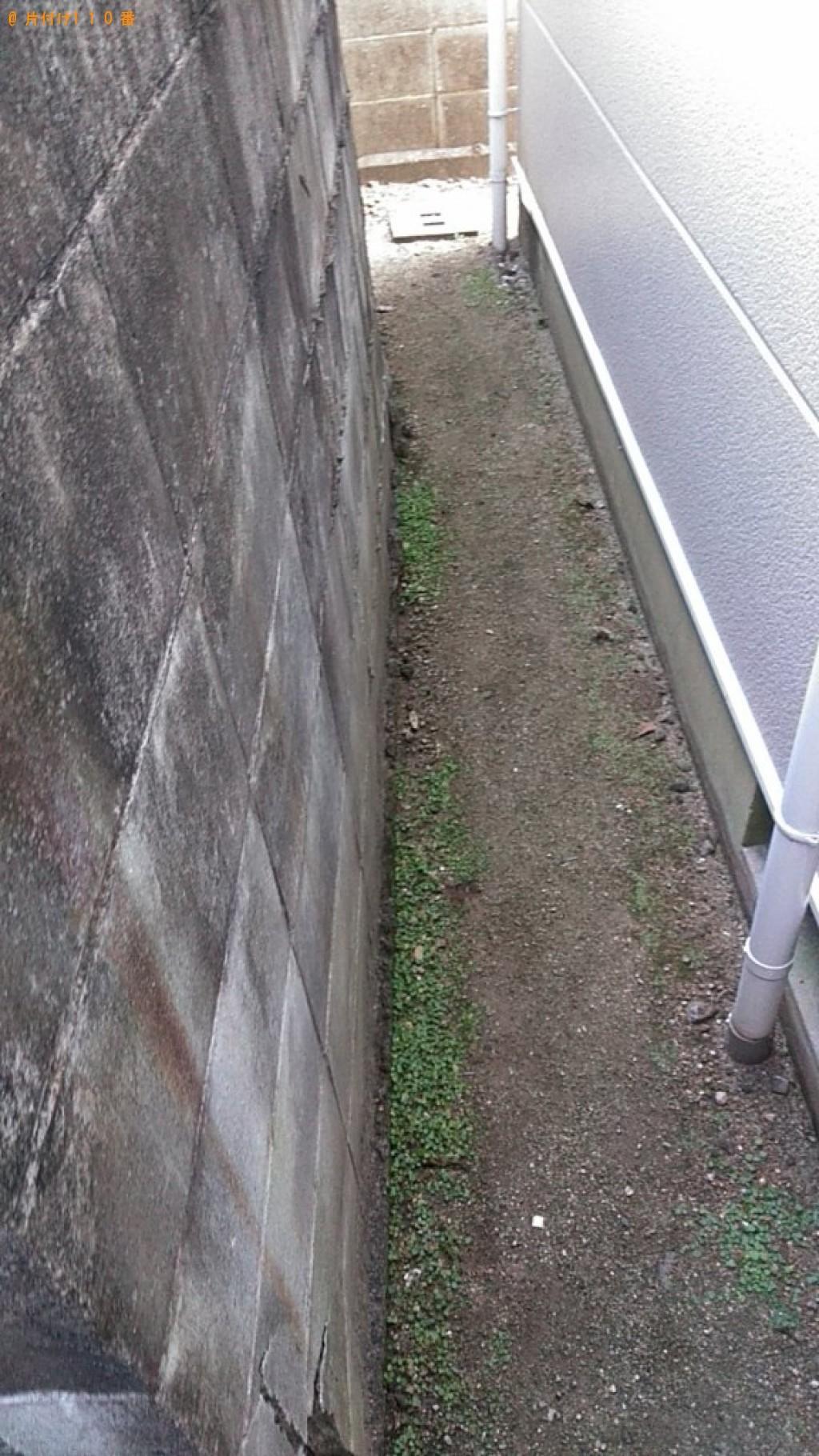 【松山市木屋町】シングルベッド枠のみの出張不用品回収・処分ご依頼