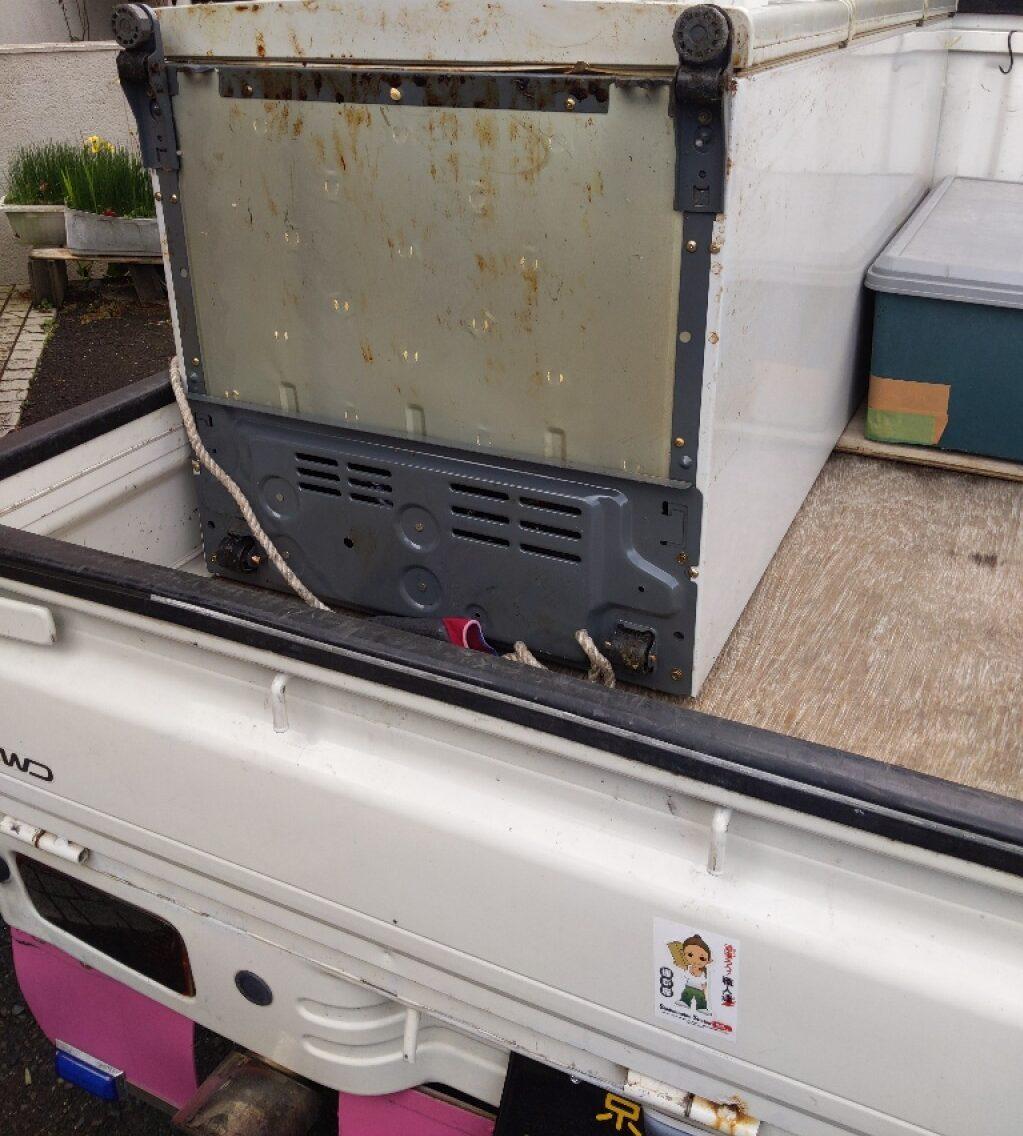 【奈良市】170L未満冷蔵庫の出張不用品回収・処分ご依頼