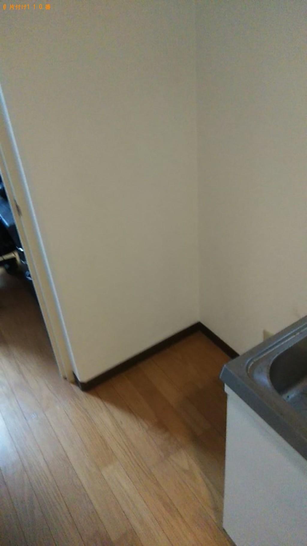 【松山市鷹子町】170L未満冷蔵庫の出張不用品回収・処分ご依頼