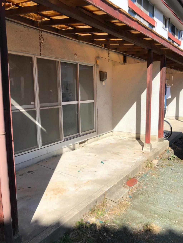 【福岡市東区】家具・家電などの出張不用品回収・処分ご依頼