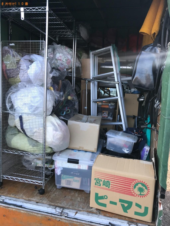 【宮崎市吾妻町】軽トラック1杯以内の出張不用品回収・処分ご依頼