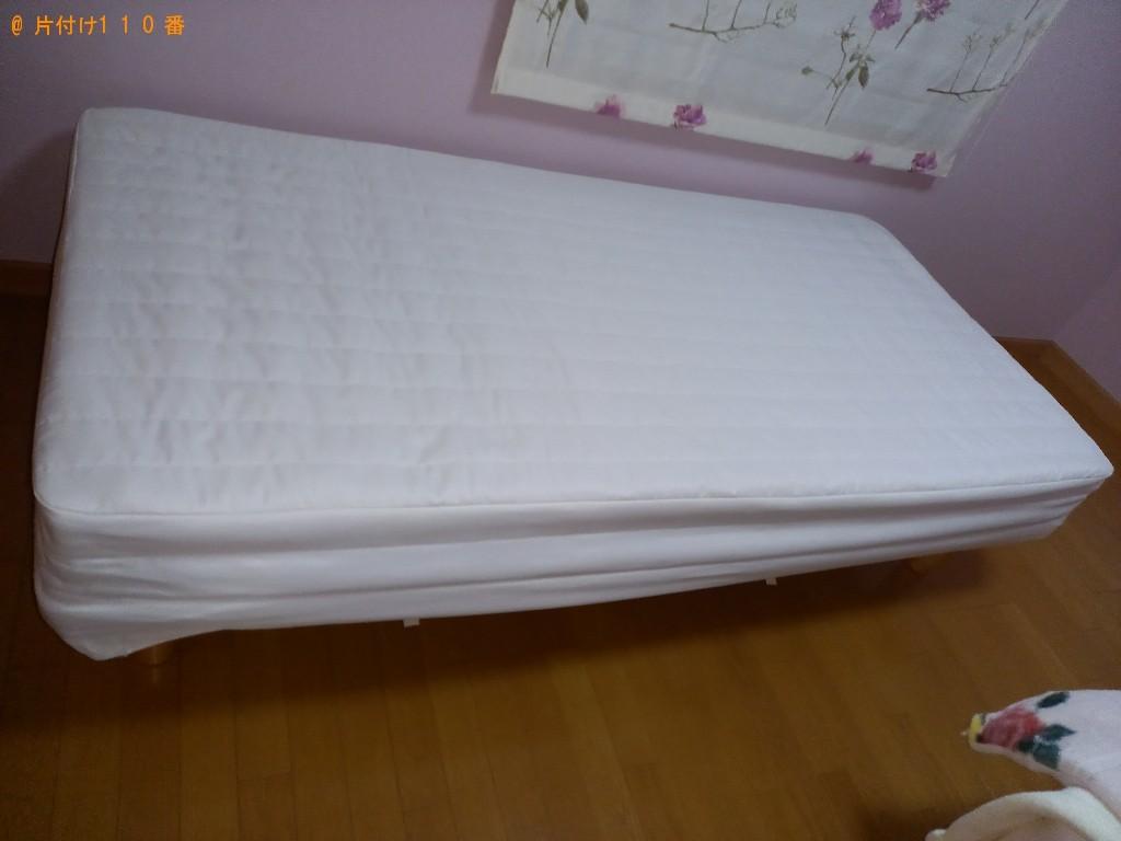【西東京市新町】シングルベッドの出張不用品回収・処分ご依頼