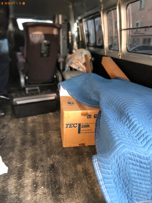 【札幌市豊平区】軽トラパックでの出張不用品回収・処分ご依頼
