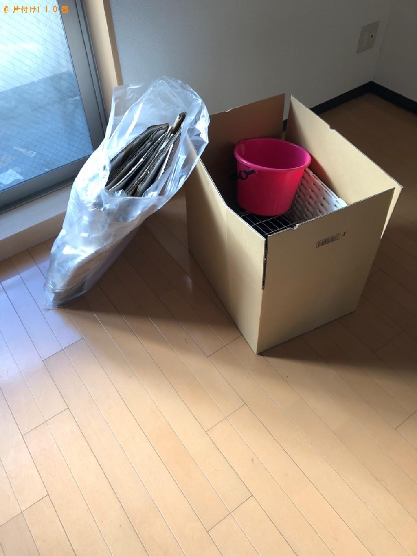 【京都市左京区】軽トラック1杯以内の出張不用品回収・処分ご依頼