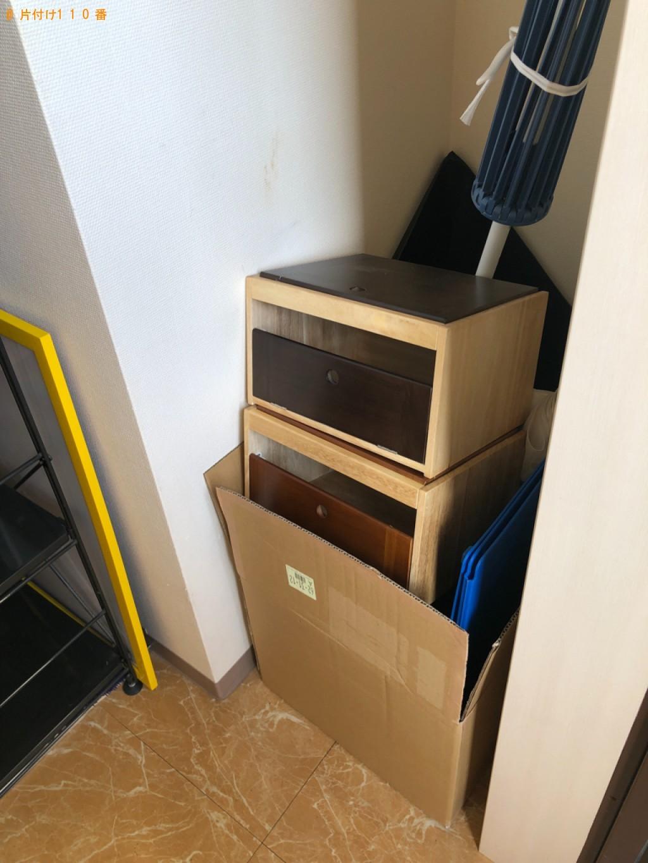【京都市山科区】家具などの出張不用品回収・処分ご依頼 お客様の声