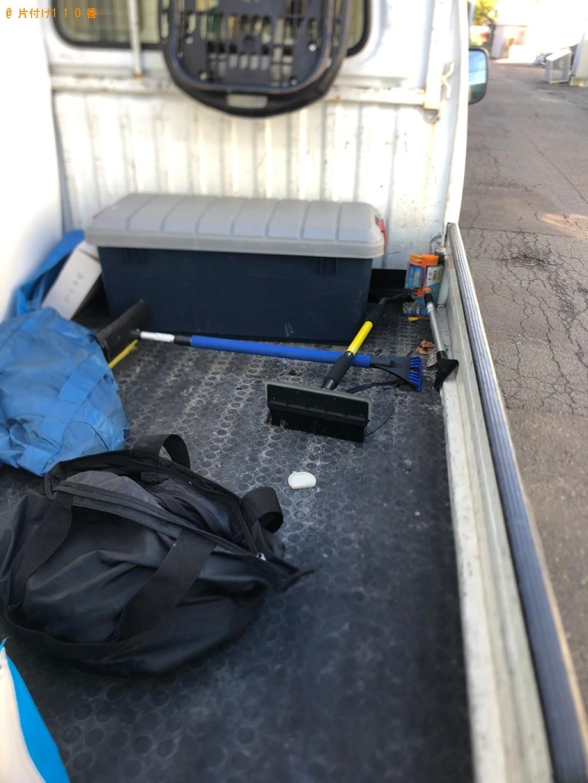 【札幌市北区】軽トラック1杯以内の出張不用品回収・処分ご依頼