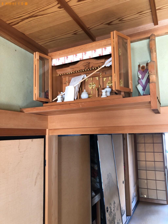 【甲賀市土山町】仏壇の出張不用品回収・処分ご依頼 お客様の声