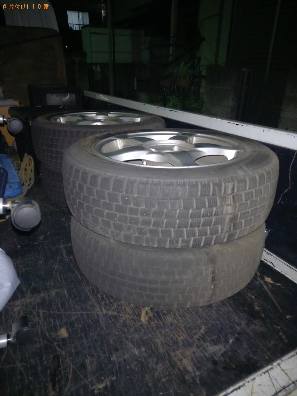 【船橋市海神町】自動車タイヤの出張不用品回収・処分ご依頼