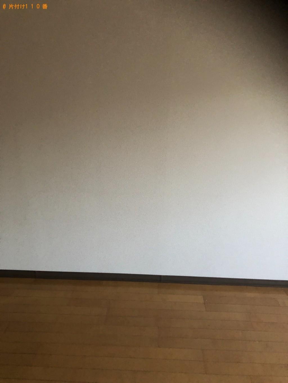 【京都市下京区】ベッドマットレスの出張不用品回収・処分ご依頼