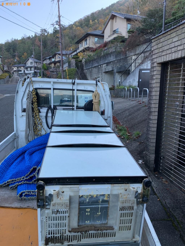【京都市山科区】171L以上冷蔵庫の出張不用品回収・処分ご依頼