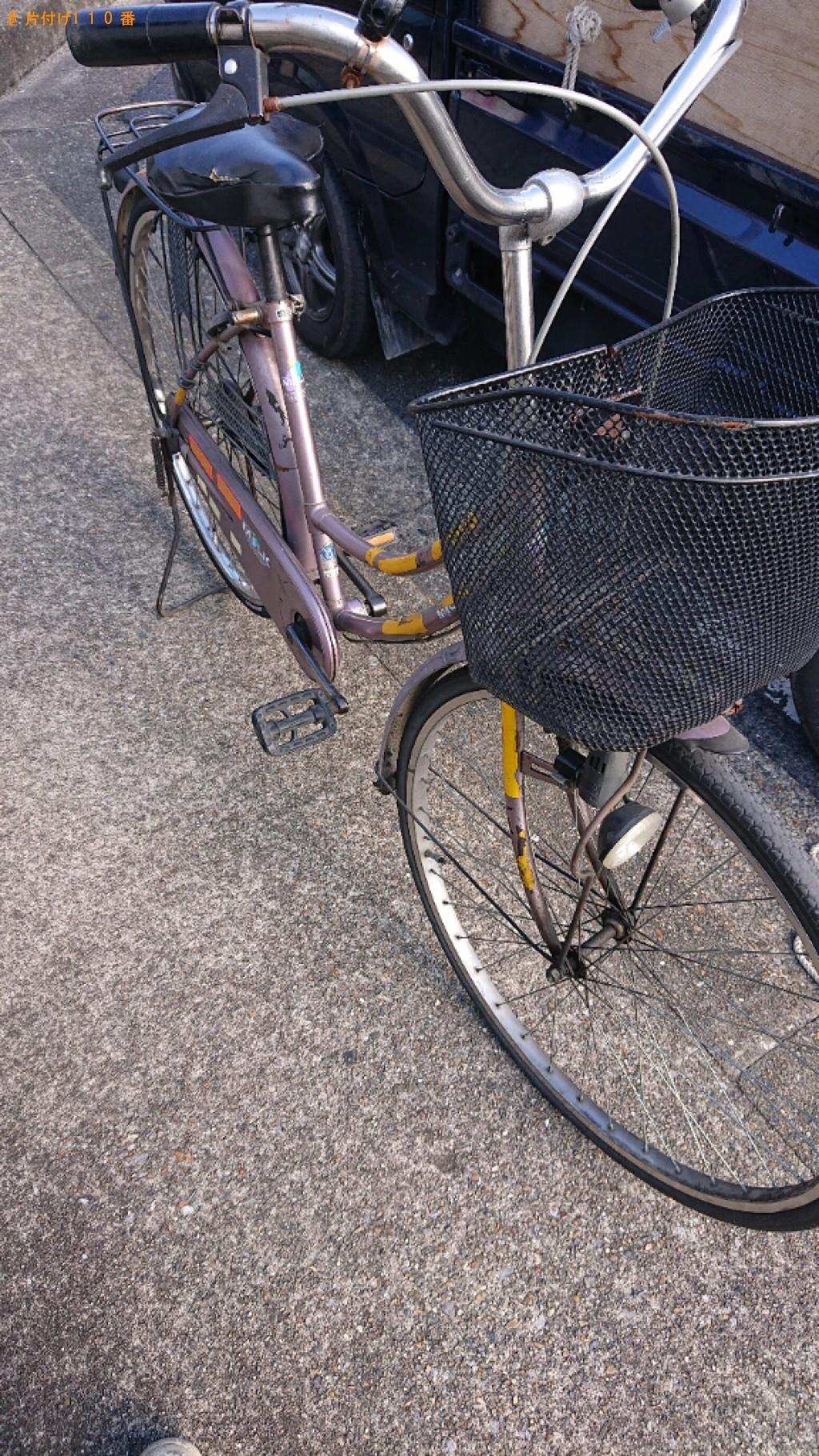 【大和郡山市昭和町】自転車の出張不用品回収・処分ご依頼