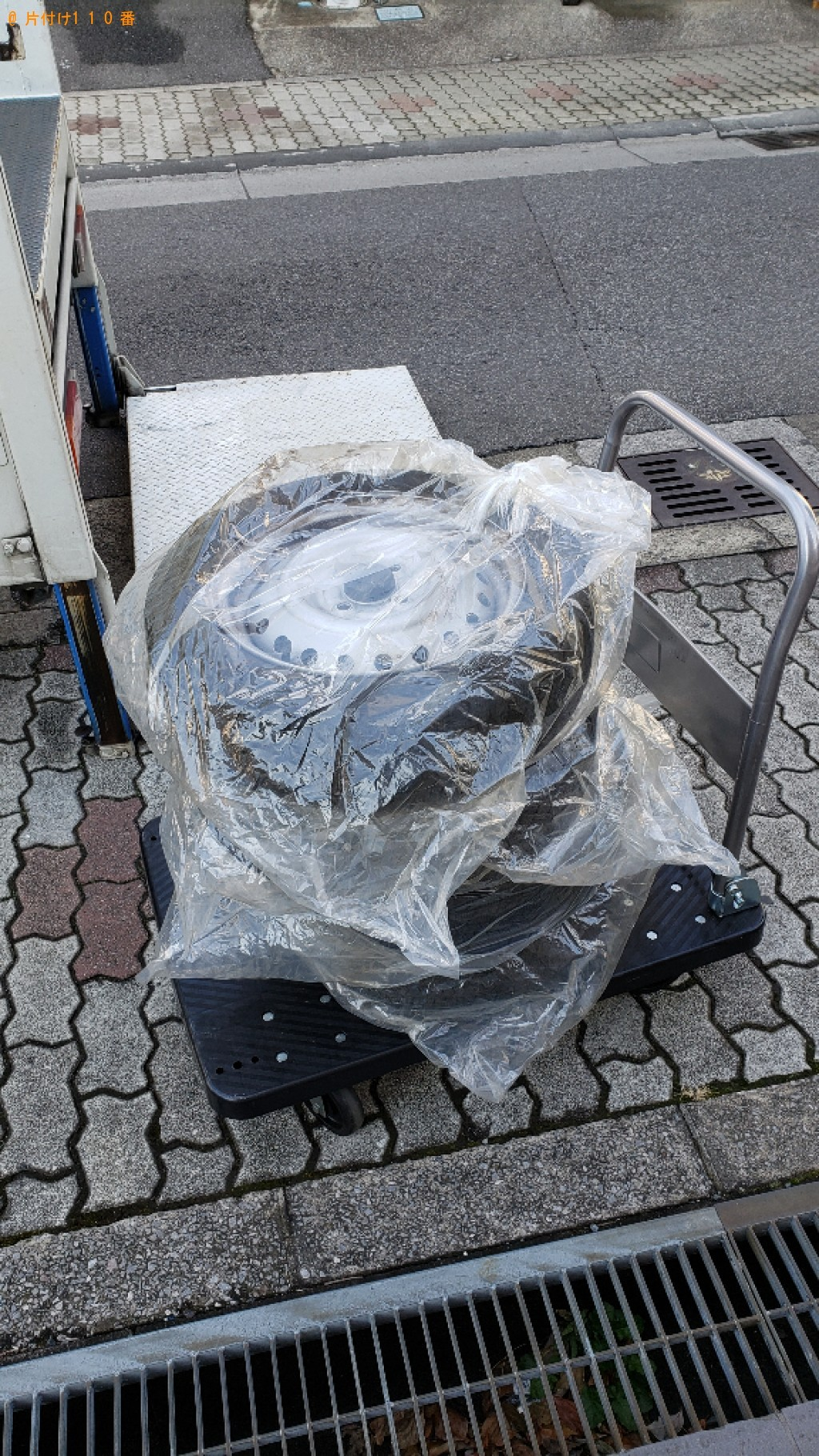 【川口市栄町】自動車タイヤの出張不用品回収・処分ご依頼