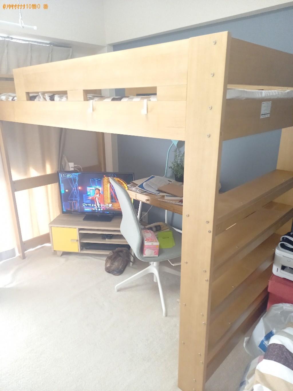 【横浜市港北区】二段ベッド枠のみの出張不用品回収・処分ご依頼