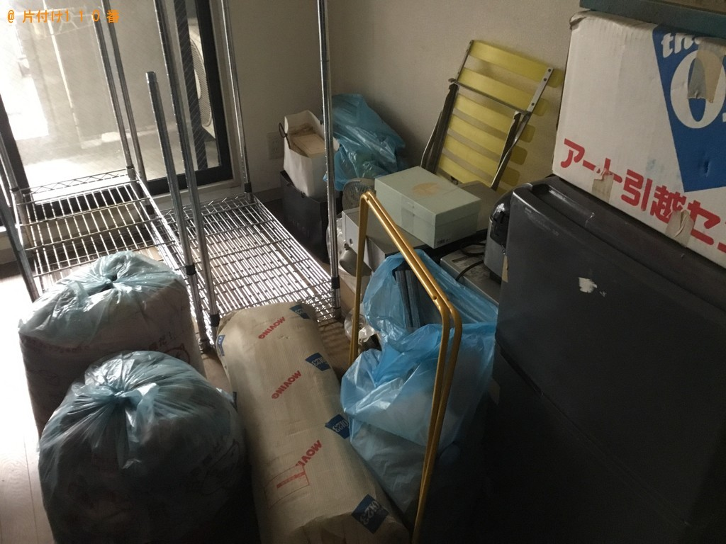 【神戸市兵庫区】軽トラパックでの出張不用品回収・処分ご依頼
