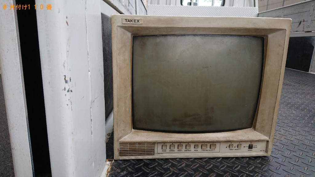 【船橋市】PCモニタの出張不用品回収・処分ご依頼 お客様の声