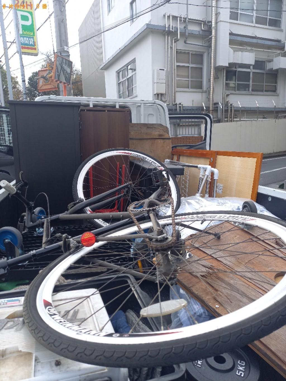 【渋谷区本町】軽トラック1杯以内の出張不用品回収・処分ご依頼