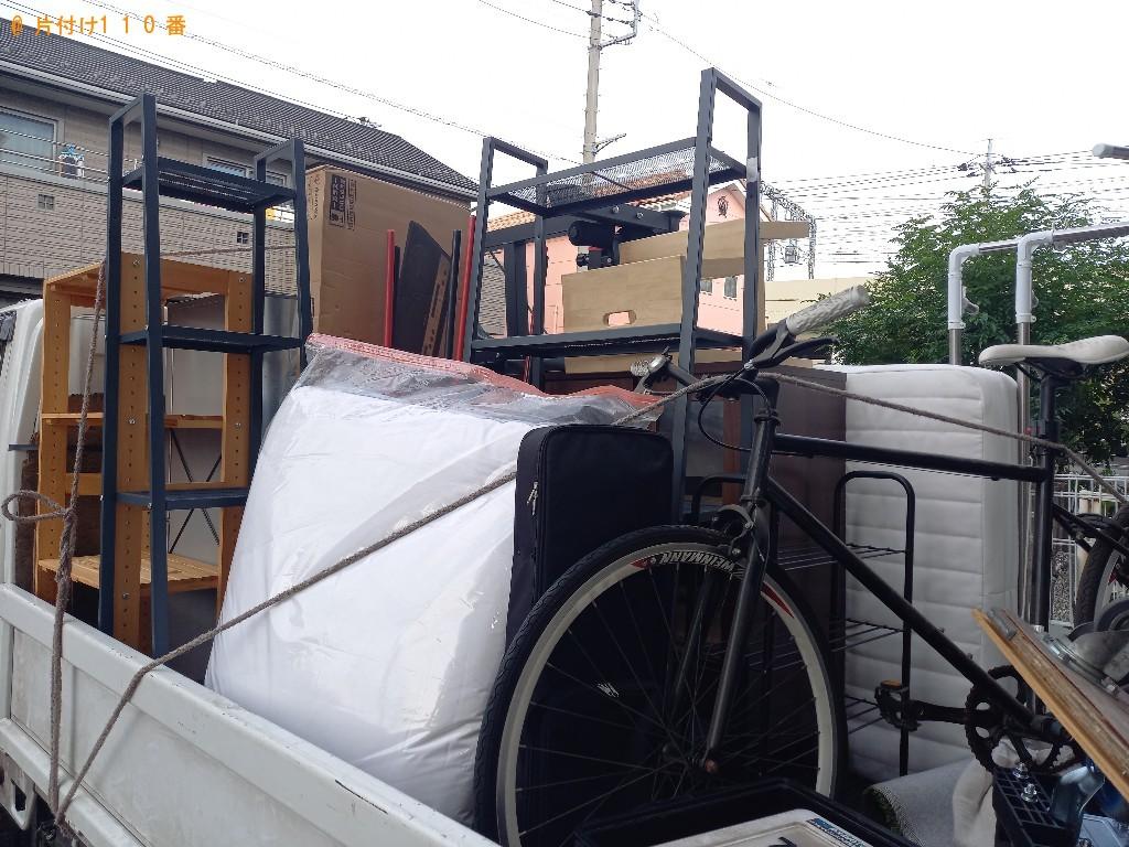 【越谷市】2tトラック1杯以内の出張不用品回収・処分ご依頼