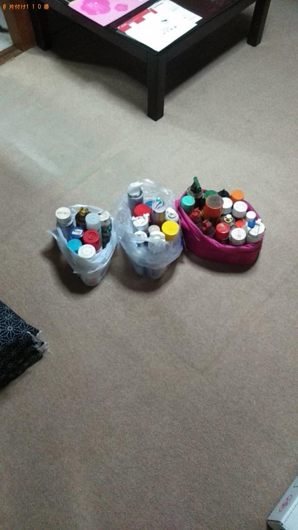 【今治市共栄町】スプレー缶の出張不用品回収・処分ご依頼