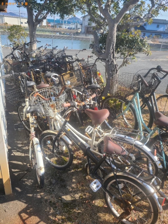 【防府市】自転車の出張不用品回収・処分ご依頼 お客様の声