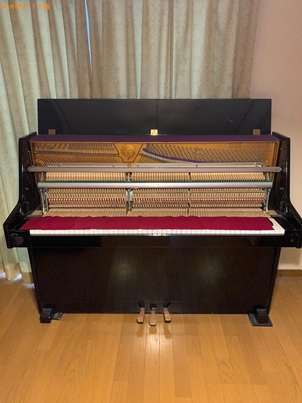 【宇治市広野町】ピアノの出張不用品回収・処分ご依頼 お客様の声