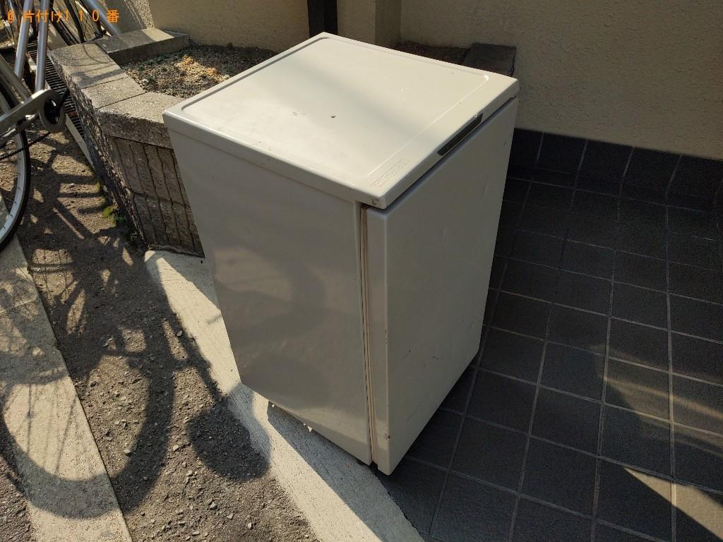 【大阪市福島区】170L未満冷蔵庫の出張不用品回収・処分ご依頼