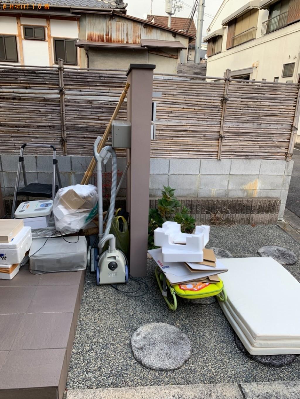 【京都市上京区】トラックパックでの出張不用品回収・処分ご依頼