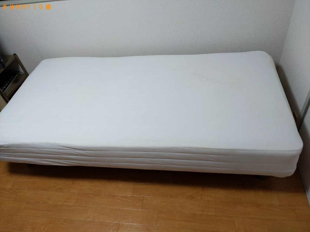 【大阪市城東区】シングルベッドの出張不用品回収・処分ご依頼