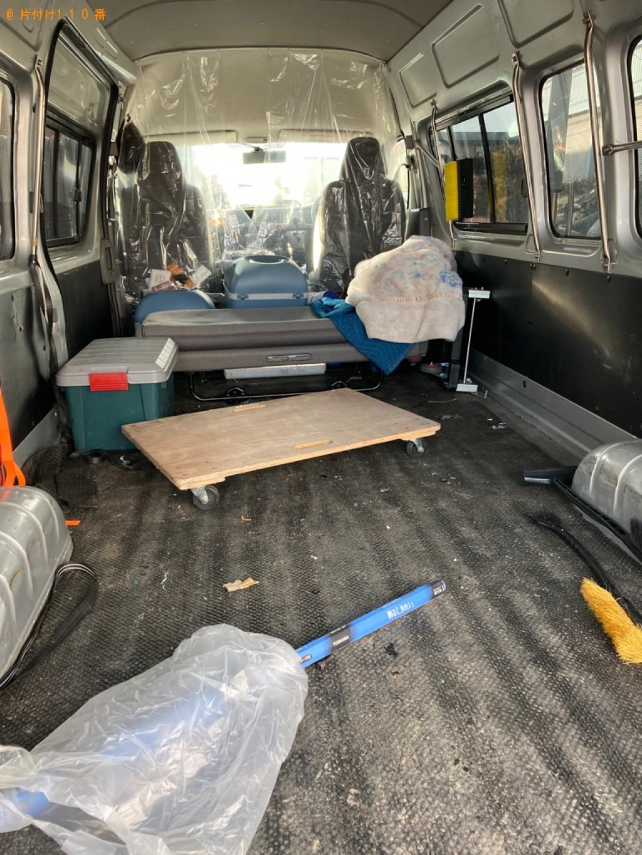【札幌市厚別区】軽トラック1杯以内の出張不用品回収・処分ご依頼