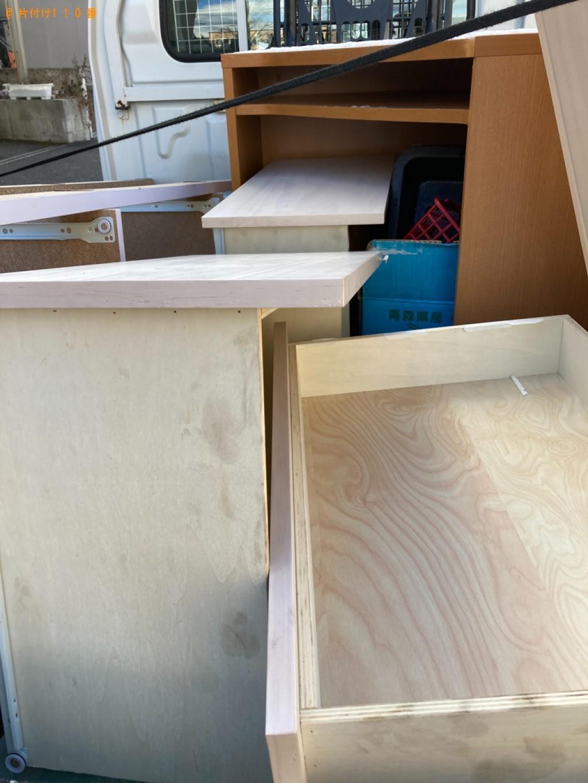【札幌市】シングルベッド枠のみの出張不用品回収・処分ご依頼