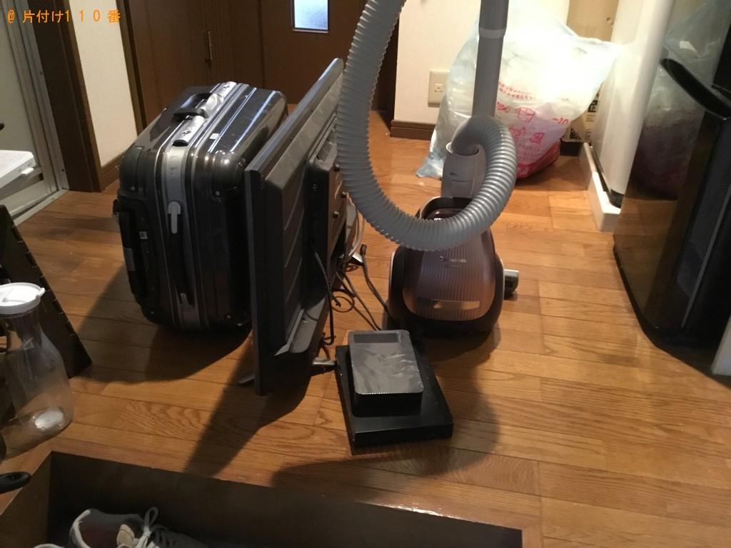 【神戸市兵庫区】16型以上テレビなどの出張不用品回収・処分ご依頼